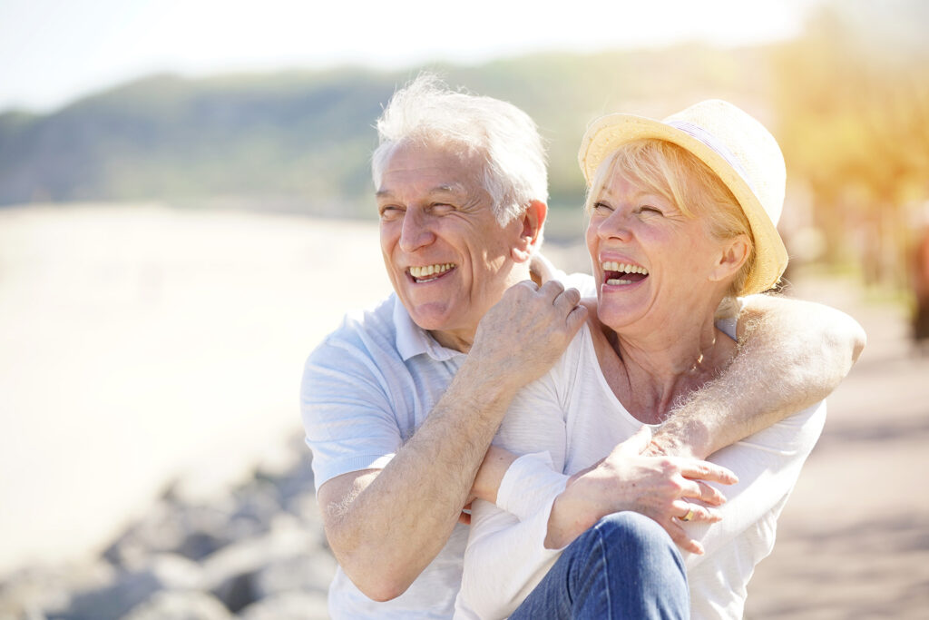married couple retire thanks to good wealth advice